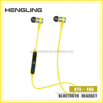 Hot selling wholesale high quality black bluetooth earphone