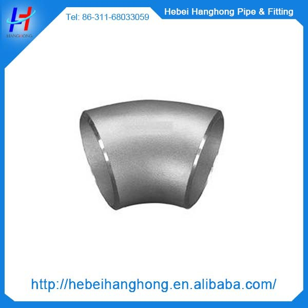 schedule 80 stainless steel pipe fitting elbow dimensions 22.5 degree