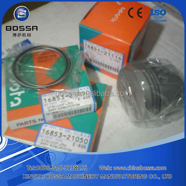 best quality d1402 kubota engine 3 cylinder piston ring