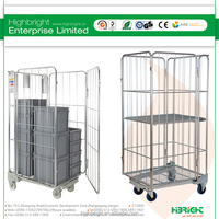 4 Sided Storage Moving Roll Cart
