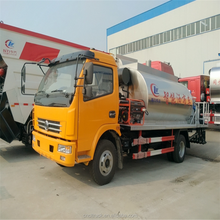 DongFeng 8000L asphalt tank transport sprinkler truck for hot sale