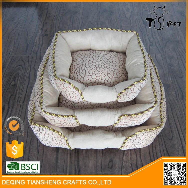 2016 Promote gift pet products plush cat bed made in china