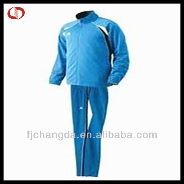 Men winter soccer training tracksuit