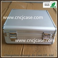 Permanent protection with lock latches very firm durable aluminum ABS tool case with lock