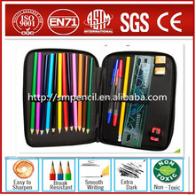 Hot sales ! pencil canvas case with color pencil for kids