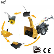 Profession Agricultural Machinery factory snow blower Best multipurpose diesel 9.3hp tractor snow thrower snow shovel