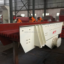 Vibrating grizzly screen for gravel