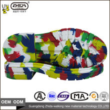 Fashion rubber material shoe soles for men with customized size
