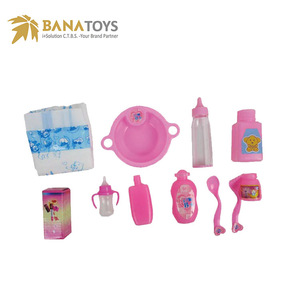 Mini kitchen play set baby doll accessories