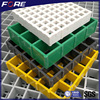 68%Hole-opening rate fiberglass walking grating, FRP fiberglass grill for walkway