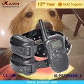 Remote control rechargeable 2 dogs fashion dog collar suppliers for pet waterproof