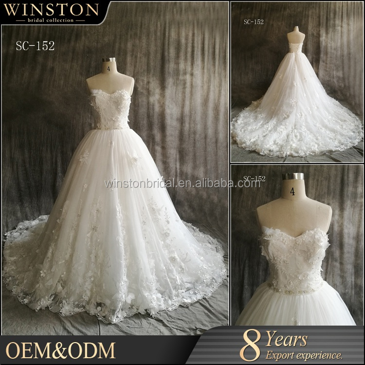 Alibaba Guangzhou Factory ball gown dresses wedding dresses