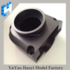 Black color Anodized machined aluminum parts CNC machining parts