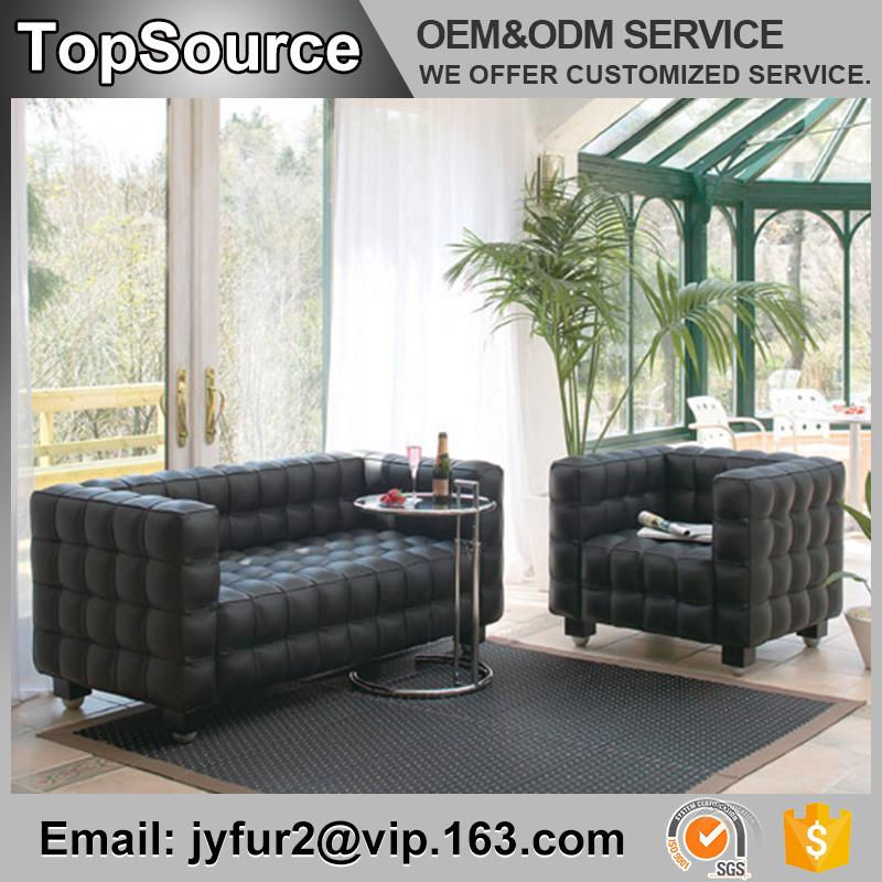 Guangdong Living Room Furniture Modern Leather Sectional Sofa