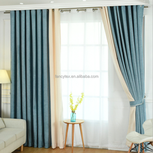 European style curtains design for the living room luxury hotel curtain cafe curtain