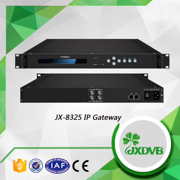 ASI Output Digital TV Signal Converter DVB IP Multiplexer