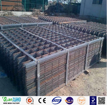 concrete reinforcement wire mesh by rib wire SL72,SL92/reinforcing mesh/welded wire mesh