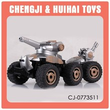 1:10 remote control mud car rc shooting tank
