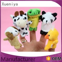 Plush Finger Puppets Toys Plush Mini Stuffed Finger Toy