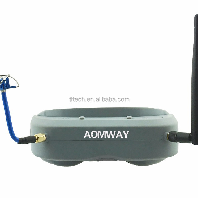 Aomway Commander Goggles V1 2D 3D 40CH 5.8G FPV Video Headset goggles Support HDMI DVR Headtracker