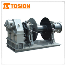 Mooring winch small hydraulic winch ton
