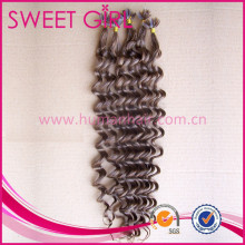 New arrival 100 percent deep wave deep curl remy india human hair