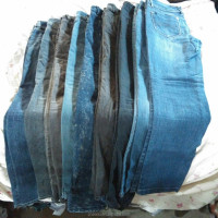Export Second Hand Bales Brand Wholesale Used Jeans For Sale