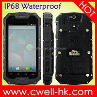Waterproof Shockproof Phone Snopow M8 Dual Core MTK6572 4.5inch QHD IPS Touch Screen IP68 Mobile Phone