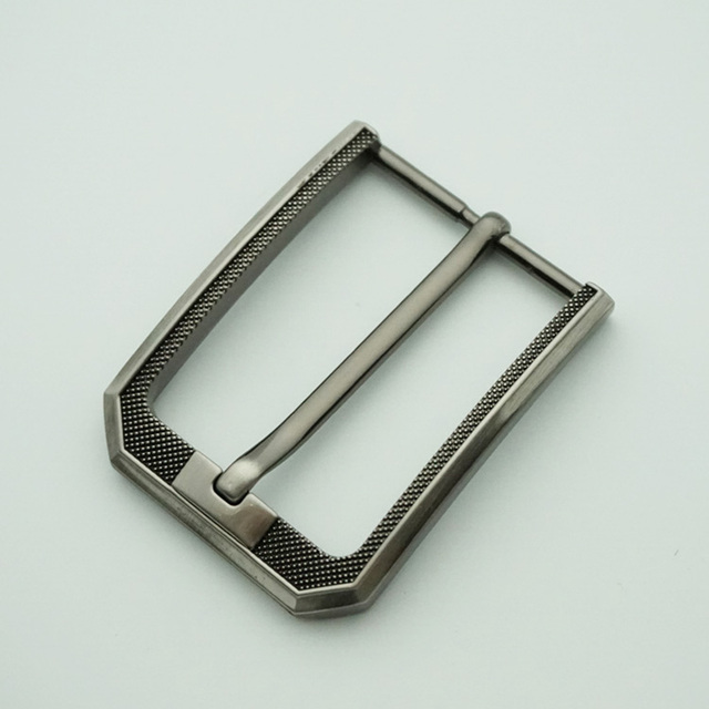 High quality New arrival metal 35mm black pin buckle for leather belt