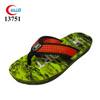 2017 excellent fashion male beach use zori EVA walker slippers
