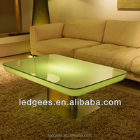 Night Club Light Up Led Table/ Waterproof Led Light Up Cube Bar Table Led Outdoor Table