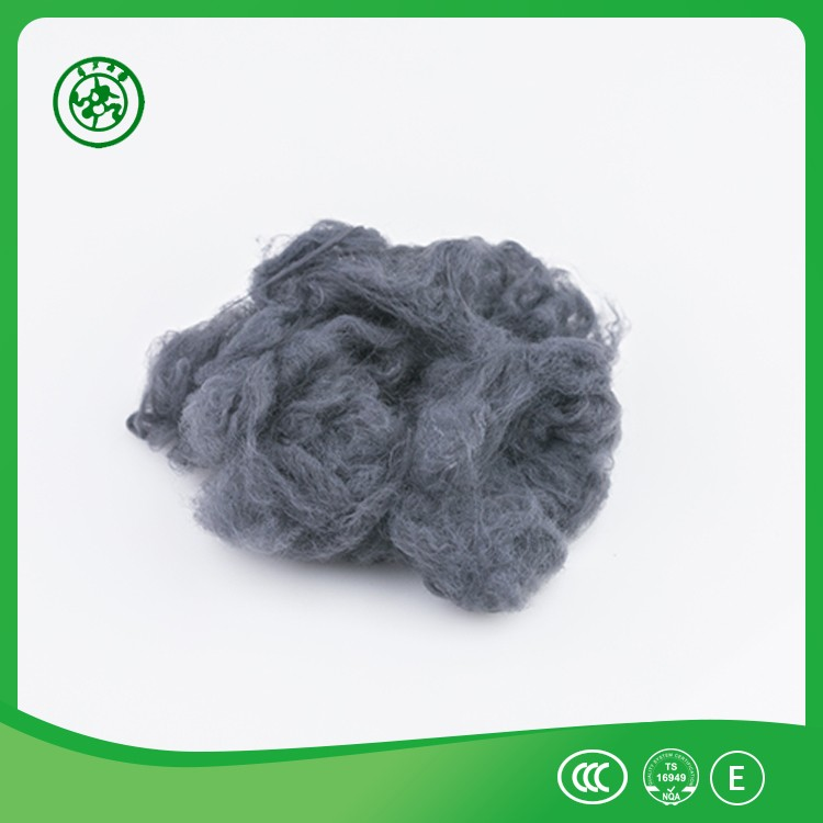 Dope Dyed Textiles Recycled Polyester Staple Fiber from Jiangyin