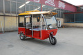 Bangladesh Popular Differential Motor Passenger Electric Trike Taxi