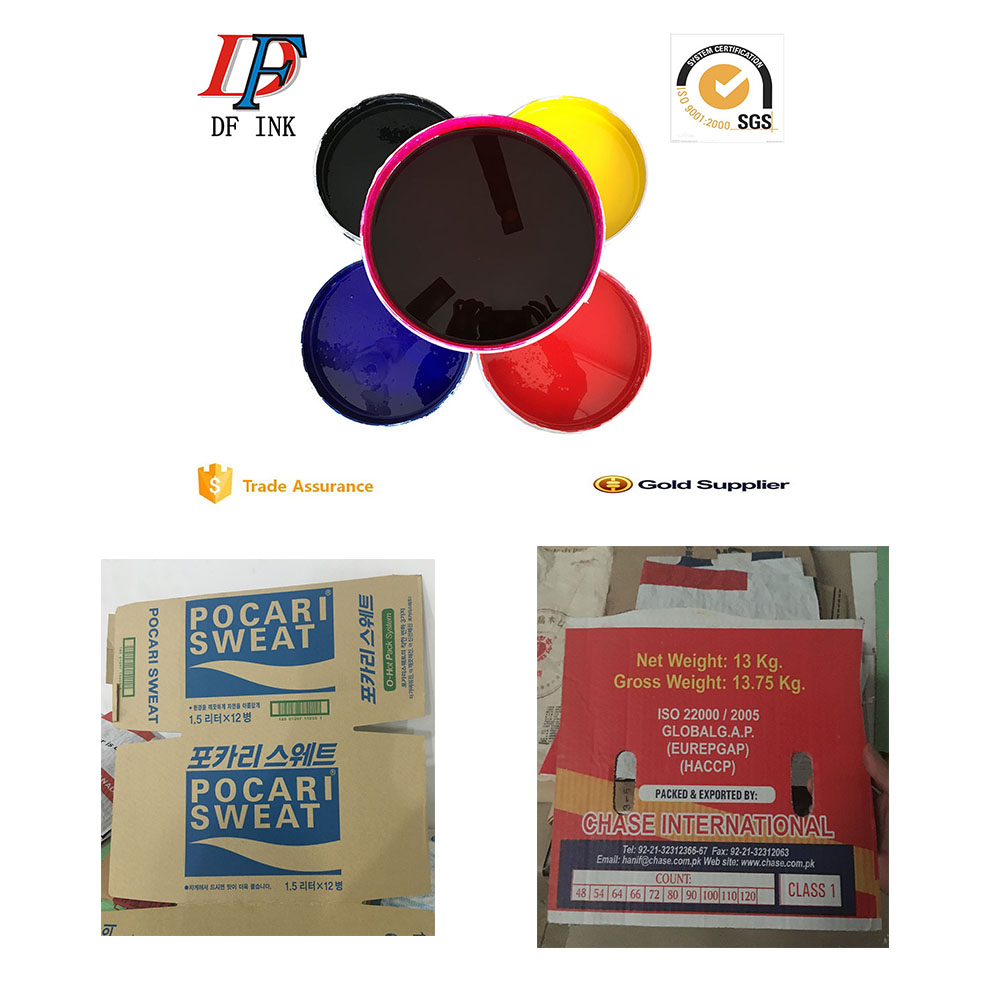wholesale water based flexographic printing ink for box packaging