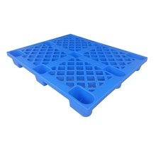 Single Side Nestable Export Plastic Pallet With Nine Feet