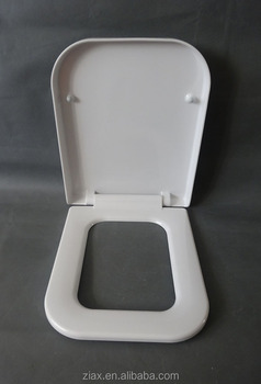 black square toilet seat. Duroplast Toilet Seat Material and Square  View square