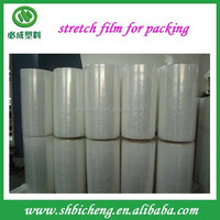 Top Quality Clear Plastic Pe Stretch Film For Pallet Wraping Luggage Wrapping