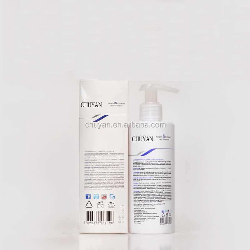 OEM/ODM 250ML 500ML Hair care product nourishing shampoo brands for keratin