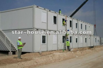 prefabricated camps for mining site