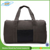 Top Quality Canvas And Leather Travel Bag For Men