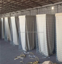 welded gabion wire mesh wall/hesco military barrier bastion