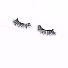 Private label accepted length 0.5-2cm temporary eyelashes
