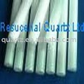 Milky Quartz tube heater