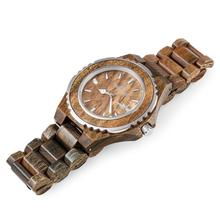 Hot Sale Bamboo Couple Watches Custom Logo On Wooden Wristwatch Men With Japan Quartz Watch
