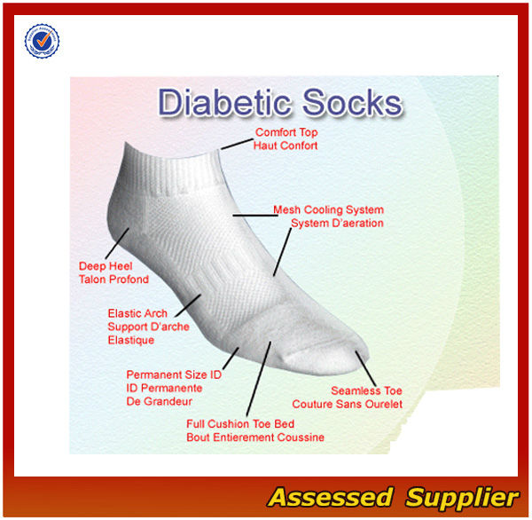 Men cotton DIABETIC SOCKS / Men compression diabetic socks