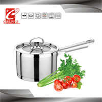 Capsuled bottom big stainless steel cooking pots soup pot
