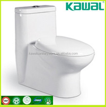 Cheap sanitary wares floor mounted two pieces Wc toilet for school