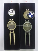 Wholesale gift box packed golf divot tool with ball marker