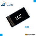 P4SMA380CA Excellent clamping 400W Bidirectional 400V TVS Diode