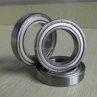 6009ZZ Deep Groove Ball Bearing, Single Row, Open, Pressed Steel Cage,high quality
